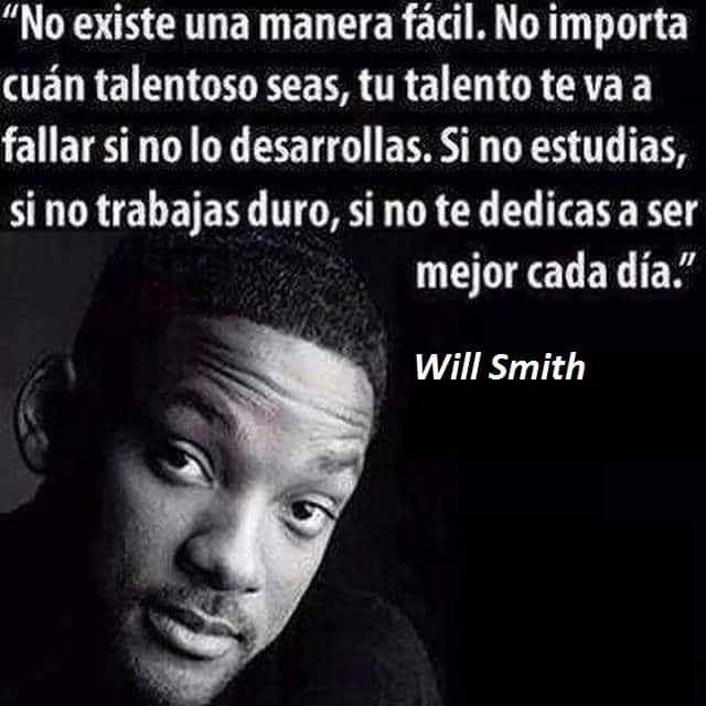 Will Smith No Existe una manera facil