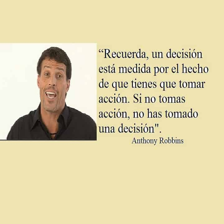 Anthony Robbins Decisiones
